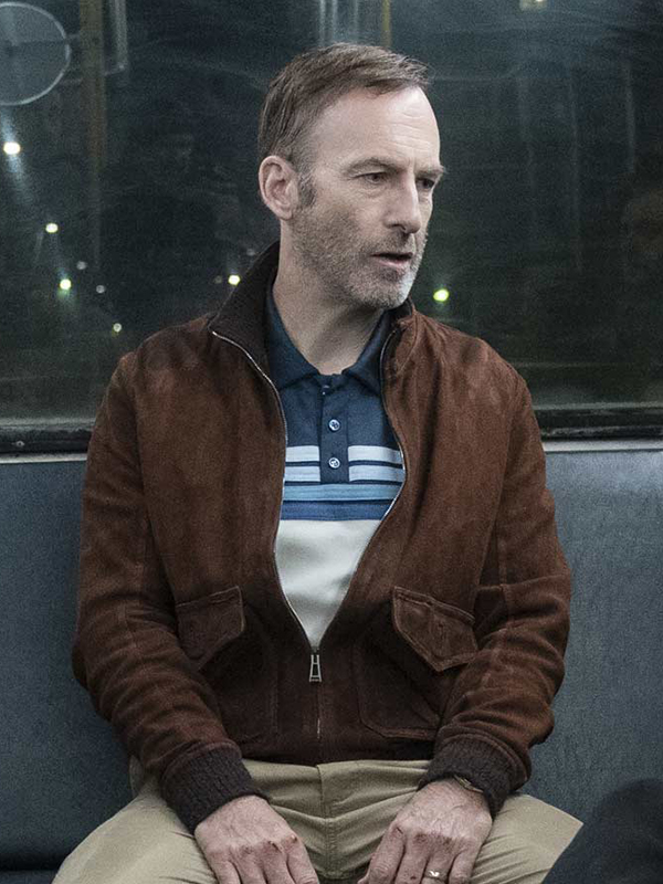 Hutch Mansell Nobody Brown Leather Jacket