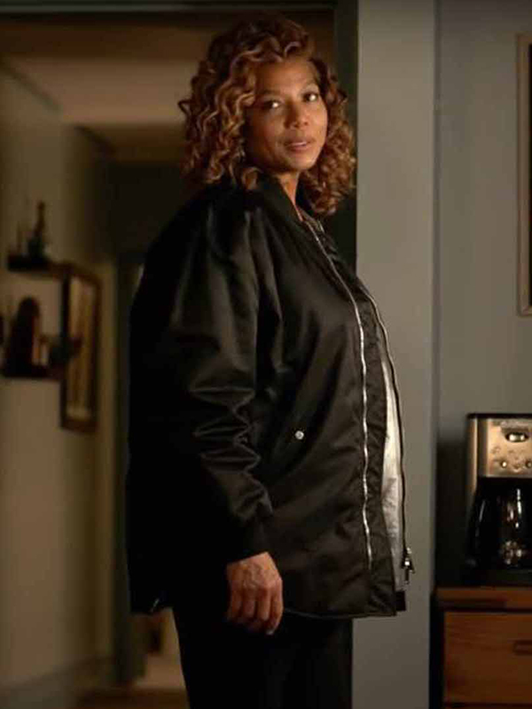Queen Latifah The Equalizer Robyn McCall Black Jacket