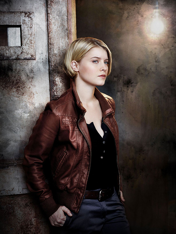 Detective Rebecca Leather Jacket