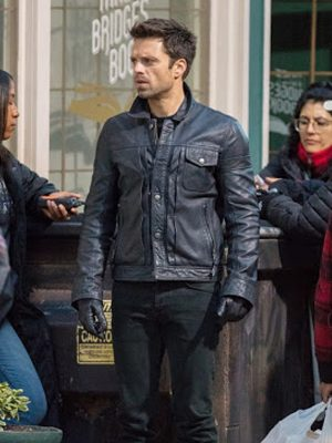 Sebastian Stan The Falcon and the Winter Soldier Jacket