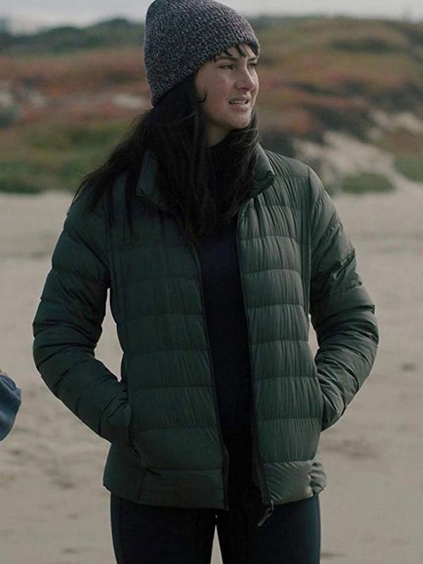 Big Little Lies Shailene Woodley Puffer Jacket