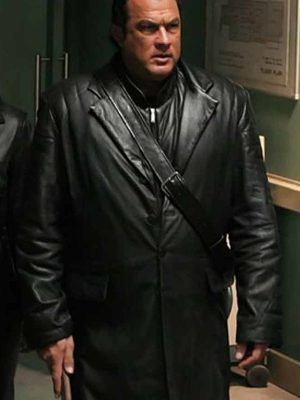 Steven Seagal Leather Coat