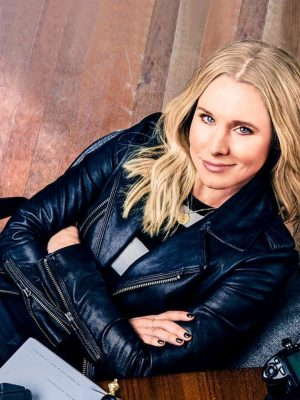 Veronica Mars Black Leather Jacket