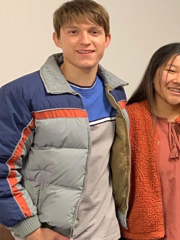 Nico Walker Cherry Puffer Jacket
