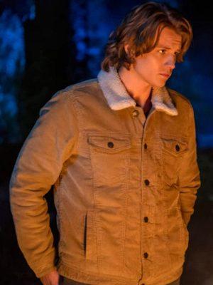 Nancy Drew Alex Saxon Brown Jacket
