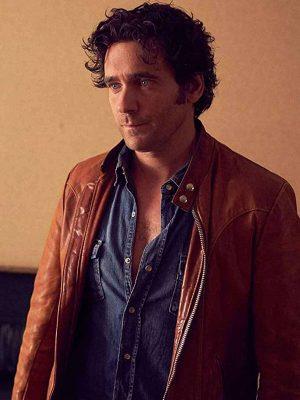 Allan Hawco Leather Jacket