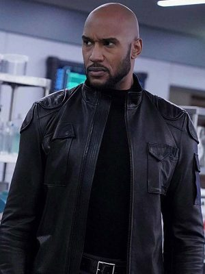 Agents of Shield Henry Simmons Leather Jacket