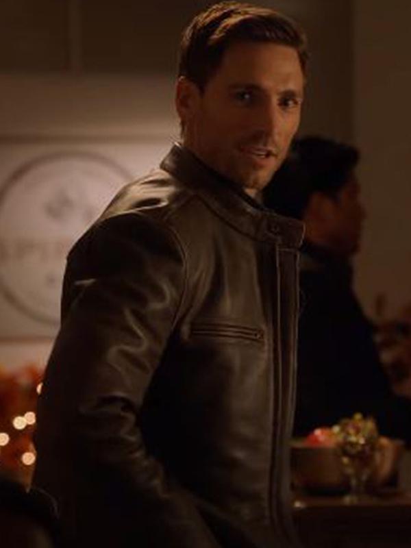 Andrew W. Walker Leather Jacket