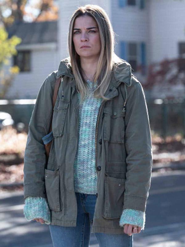 Allison Kevin Can F**k Himself Grey Jacket