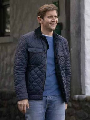As Luck Would Have It Brennan Black Quilted Jacket