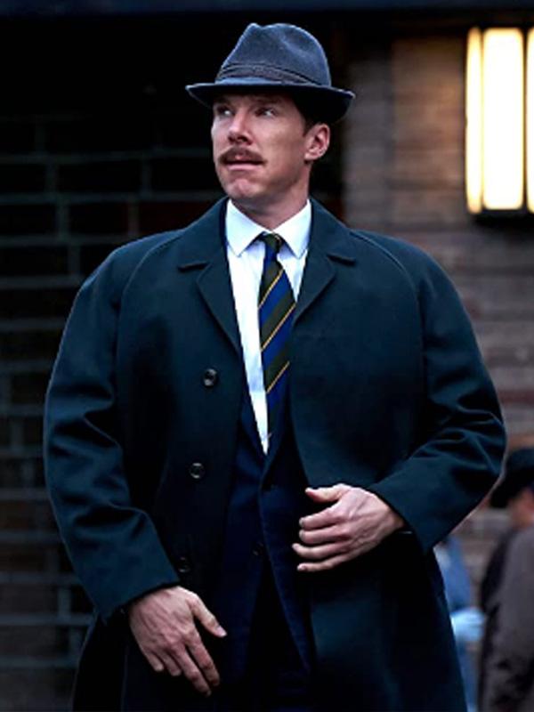 The Courier Greville Wynne Black Coat