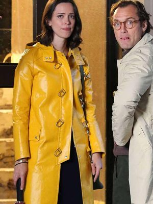 A Rainy Day in New York Rebecca Hall Coat
