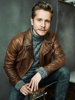 Matt Czuchry The Resident Conrad Hawkins Brown Leather Jacket