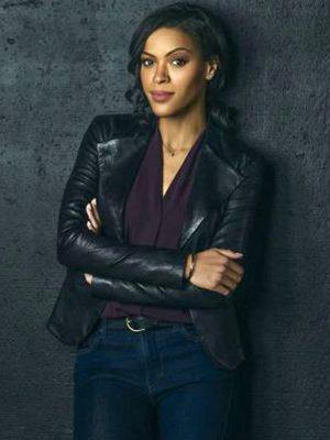 Detective Karen Hart Nancy Drew Black Leather Jacket