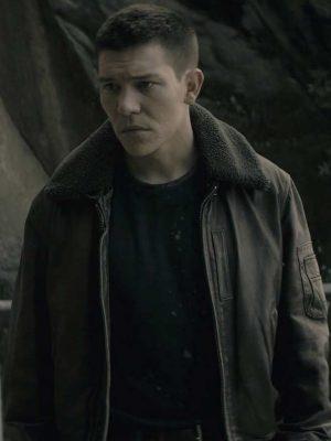 Jimi Stanton Exodus Brown Leather Jacket