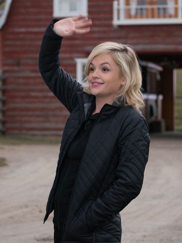 Heartland Mallory Wells Quilted Black Jacket