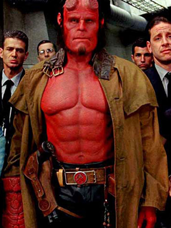 Hellboy Brown Leather Coat