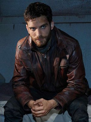 Deke Shaw Agents of Shield Brown Leather Jacket