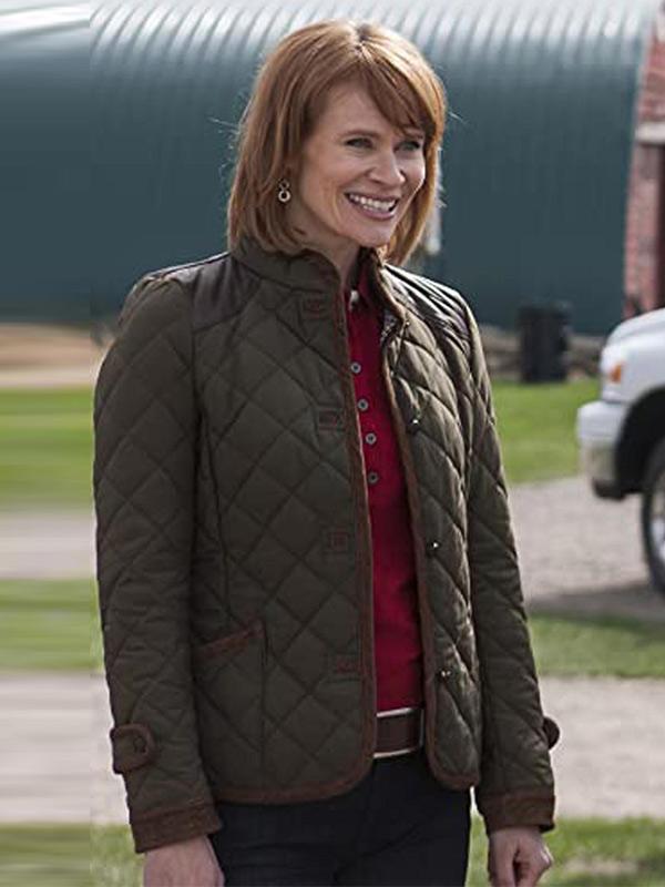 Lisa Ryder Green Quilted Jacket