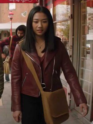 Olivia Liang Biker Jacket
