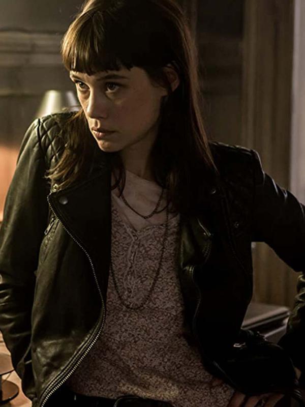 Astrid Bergès-Frisbey The Vault Jacket