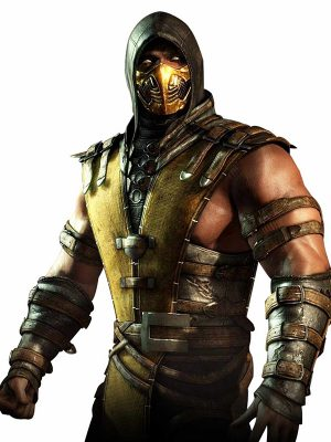 Scorpion Mortal Kombat Leather Jacket