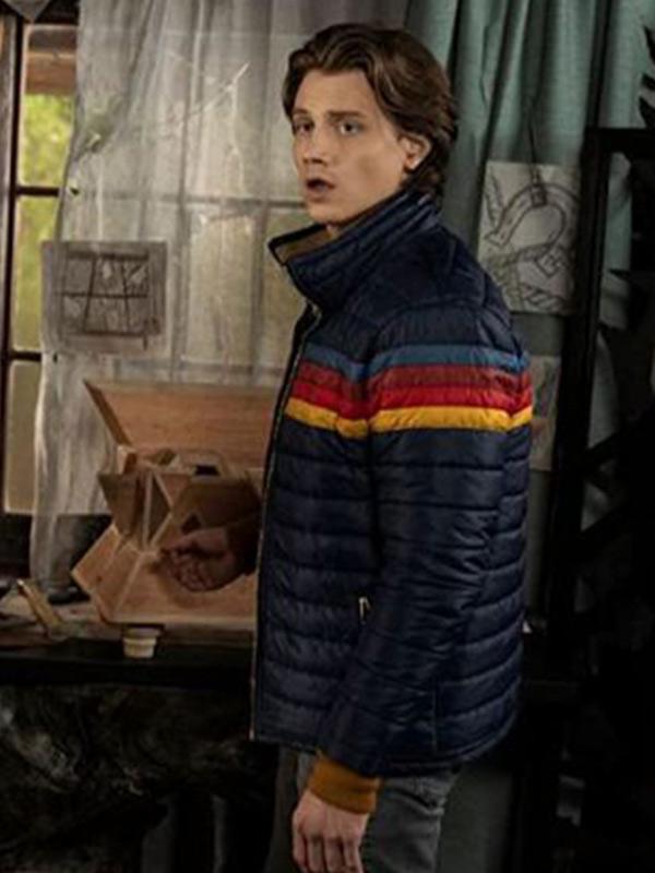 Alex Saxon Nancy Drew Blue Puffer Jacket
