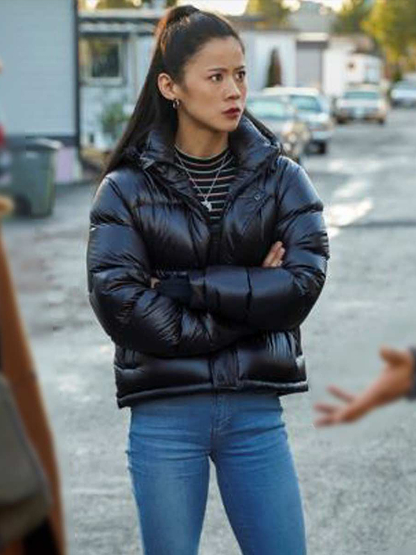 Nancy Drew Leah Lewis Puffer Jacket