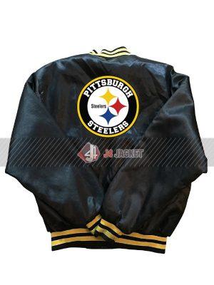 Vintage Steelers Bomber Jacket