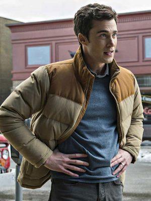 Resident Alien Levi Fiehler Puffer Jacket