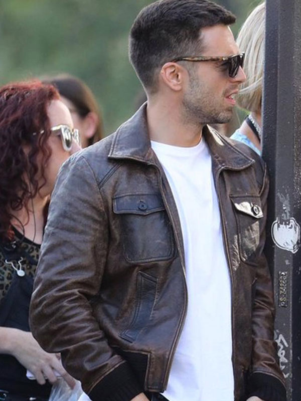 The 355 Nick Brown Leather Jacket