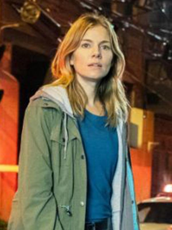 21 Bridges Sienna Miller Hooded Jacket