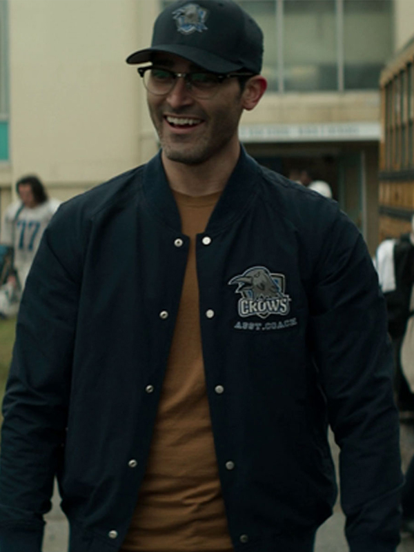 Superman and Lois Tyler Hoechlin Bomber Jacket