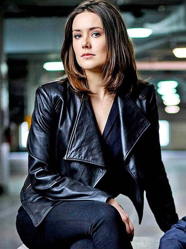 The Blacklist Megan Boone Leather Jacket