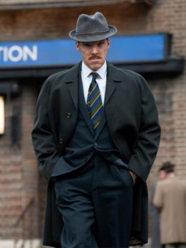 Benedict Cumberbatch The Courier Black Trench Coat
