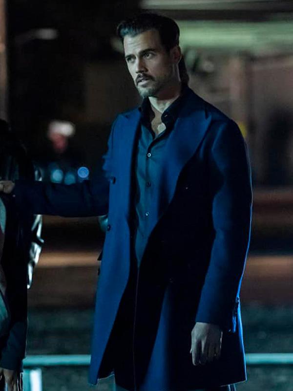 The Equalizer Michel Deveaux Blue Coat