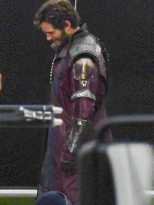 Thor Love Thunder Peter Quill Long Leather Coat