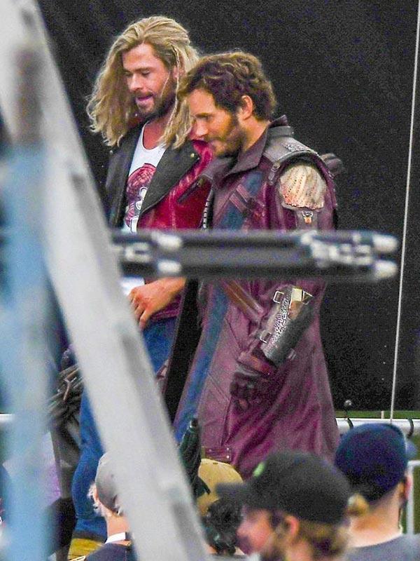 Chris Pratt Thor Love Thunder Leather Coat