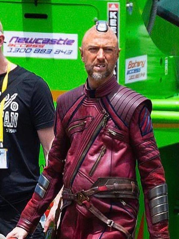 Kraglin Obfonteri Thor Love and Thunder Leather Jacket