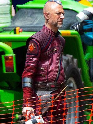 Thor Love and Thunder Sean Gunn Leather Jacket