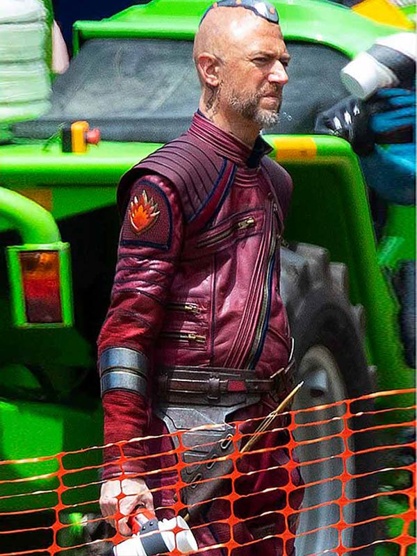 Thor Love and Thunder Sean Gunn Leather Jacket
