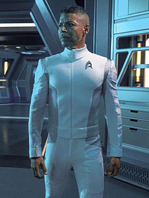 Wilson Cruz Star Trek Discovery White Jacket
