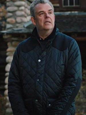 Dan Jenkins Yellowstone Blue Quilted Jacket