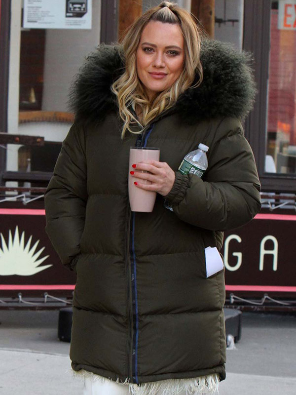 Younger Kelsey Peters Shearling Puffer Jacket