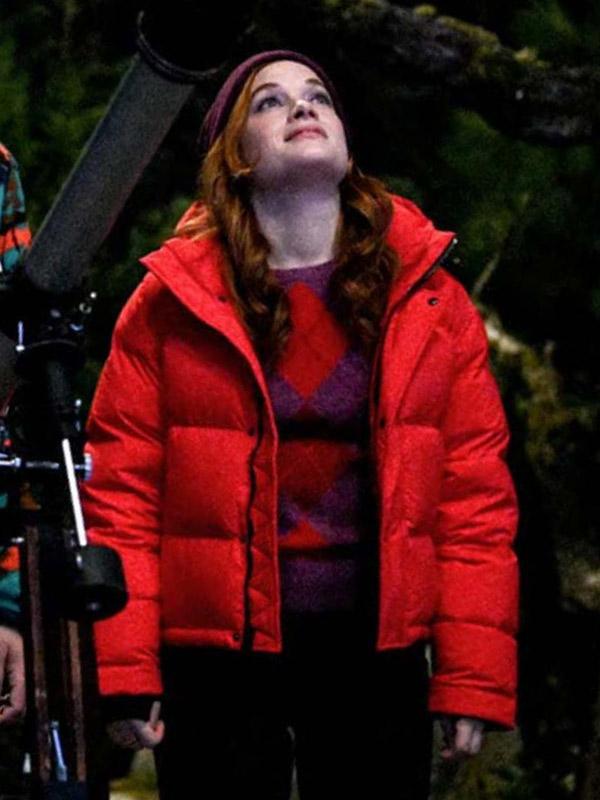 Zoey's Extraordinary Playlist Jane Levy Puffer Jacket