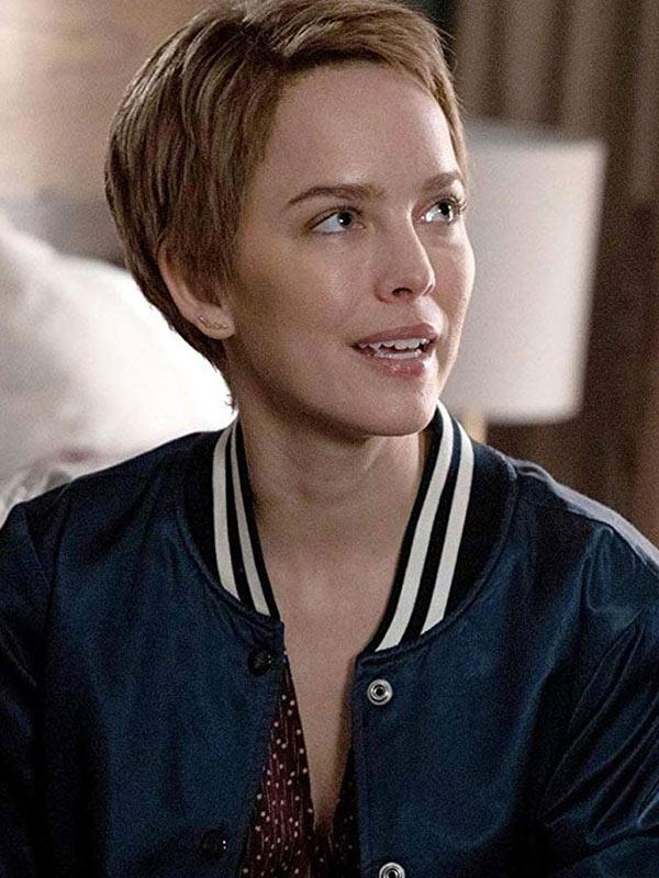 Allison Miller A Million Little Things Blue Varsity Jacket