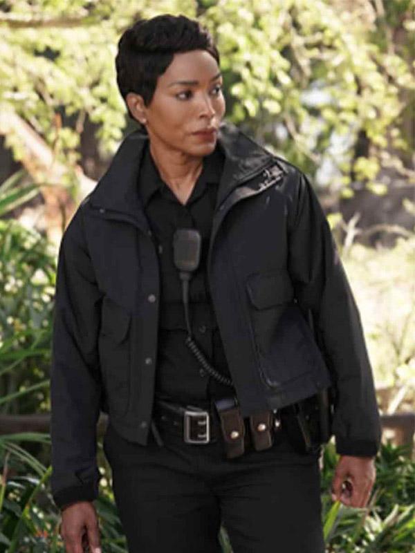 9-1-1 Athena Grant Black Cotton Jacket