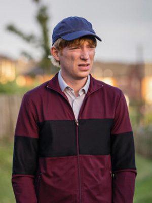 Domhnall Gleeson Frank of Ireland Doofus Jacket
