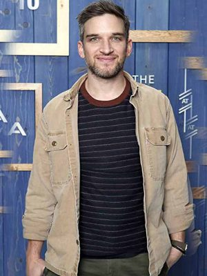 The Night House Owen Cotton Beige Jacket