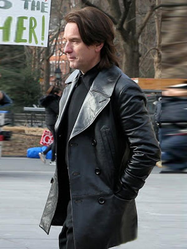 Ewan McGregor Halston 2021 Leather Jacket
